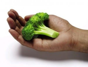 broccoli in hand NutriShield Multi Vitamins and Minerals