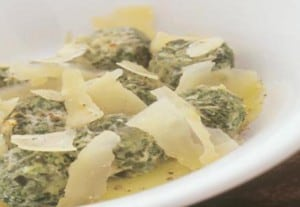 Curly kale gnocchi NutriShield Multi Vitamins and Minerals