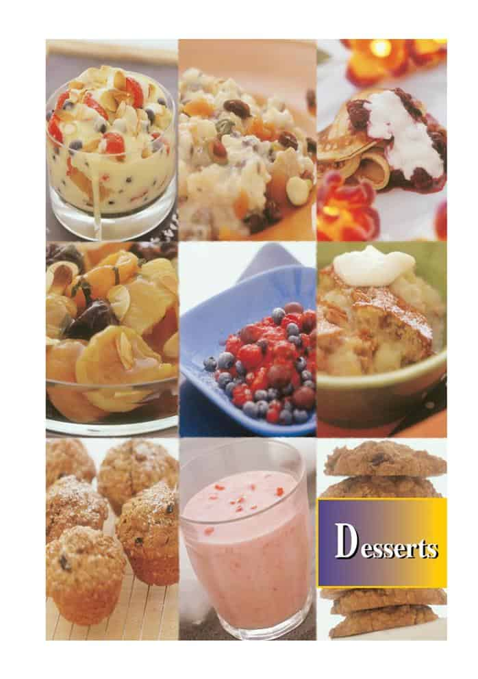 Recipes Desserts NutriShield Multi Vitamins and Minerals
