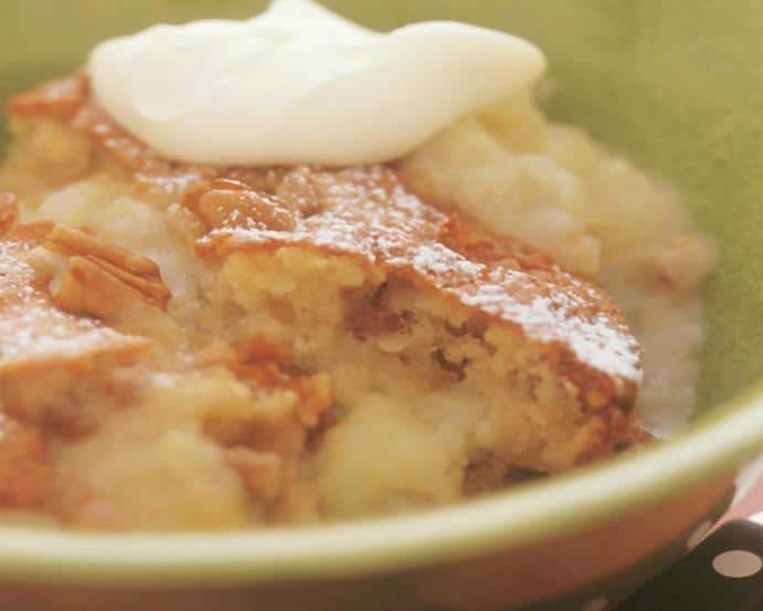 Apple, pecan and ginger pudding NutriShield Multi Vitamins and Minerals