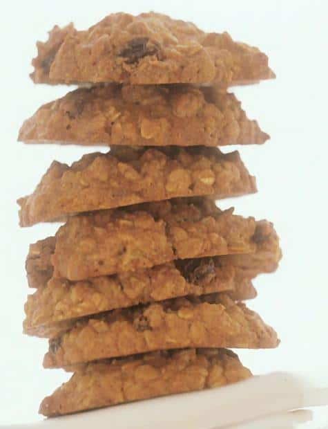 Oat and raisin cookies NutriShield Multi Vitamins and Minerals