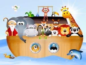 illustration of Noah's ark NutriShield Multi Vitamins and Minerals