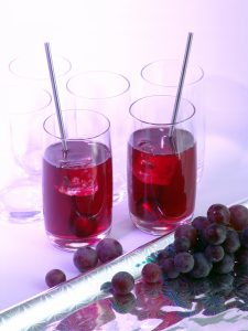 grape juice in glasses NutriShield Multi Vitamins and Minerals