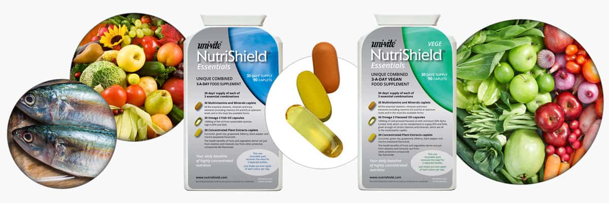 Essentials for energy and health NutriShield Multi Vitamins and Minerals