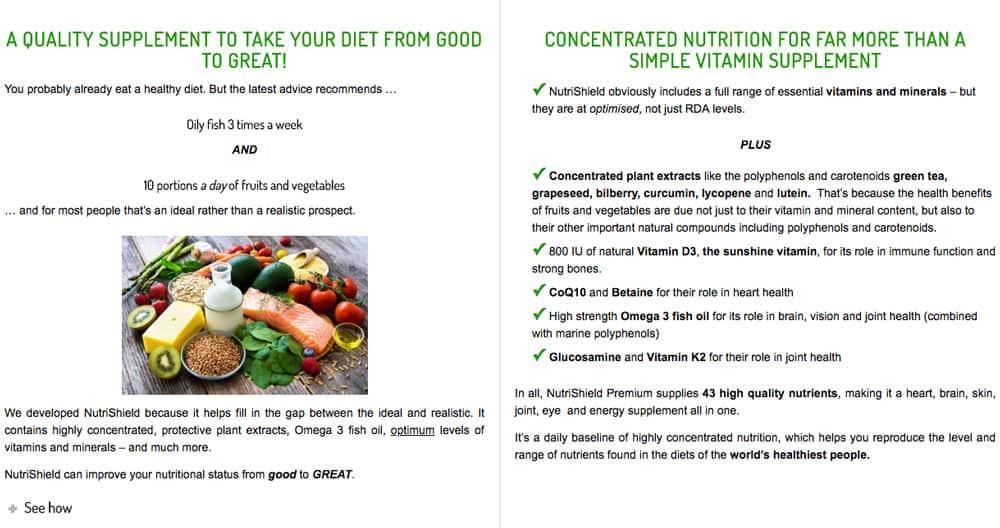 home-test NutriShield Multi Vitamins and Minerals