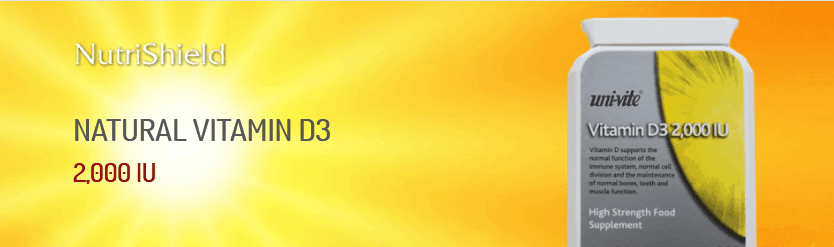 Vitamin D NutriShield Multi Vitamins and Minerals