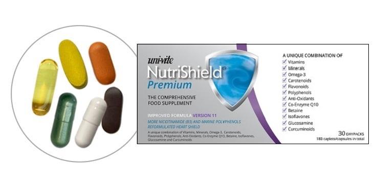 NutriShield Premium for women over 50 NutriShield Multi Vitamins and Minerals